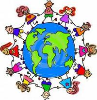 bambini multi etinici intorno al mondo